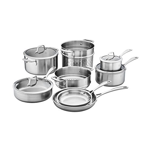 Henckels Stainless Steel Pasta Insert (ZWILLING Spirit 3-ply 12-pc Stainless Steel Cookware Set)