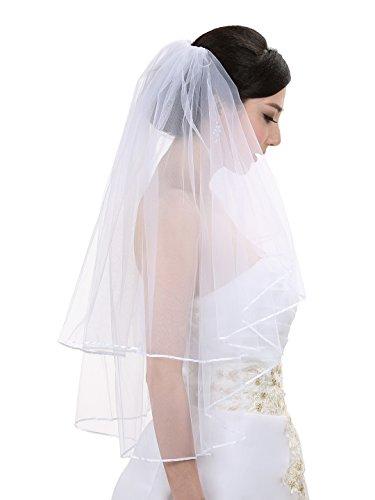 Elbow Bridal Wedding Veil - 3