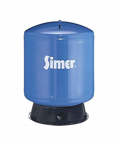 35 Gallon Water Tank (Pentair Water-Flotec-Simer VT36 35 Gallon Vertical Pre-Charged Bladder Tank, Blue)