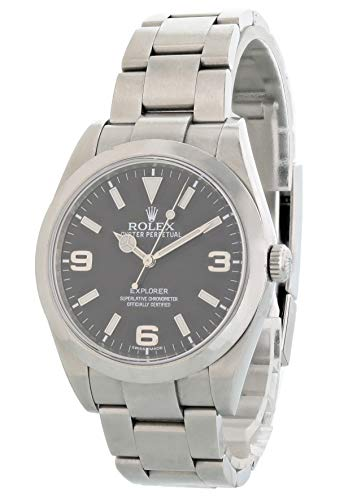 Rolex Explorer Automatic-self-Wind Male Watch 214270 (Certified Pre-Owned) (Rolex Pre Owned Watches)