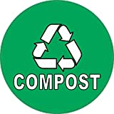 5in x 5in Compost Sticker