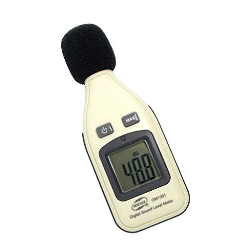 D DOLITY Sound Level Tester Noise Meters Decibel Tester 30~130dB Sound Level Recorder 621.4inch