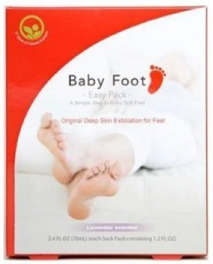 Baby Foot Easy Pack 6 Packs Baby Soft Feet All the Time by Baby Foot by Baby Foot