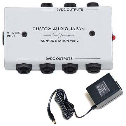 使い勝手の良い Custom Audio Japan AC Custom/DC STATION Ver.2 Audio w AC/DC/ACアダプター B003SWLR7W, オガツチョウ:98e5037c --- martinemoeykens-com.access.secure-ssl-servers.info