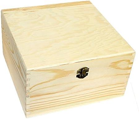 Re-Star Caja de Madera 18 x 31 x 31 cm: Amazon.es: Hogar