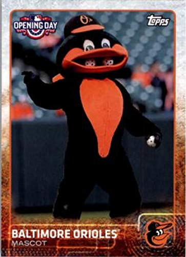 (2015 Topps Opening Day Mascots #M-03 Baltimore Orioles Orioles Baseball Card NM-MT)