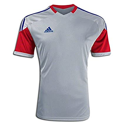 688ac2036fc8 Amazon.com   adidas Soccer Team Jerseys  adidas KHA Custom Replica Soccer  Jersey Grey L   Everything Else