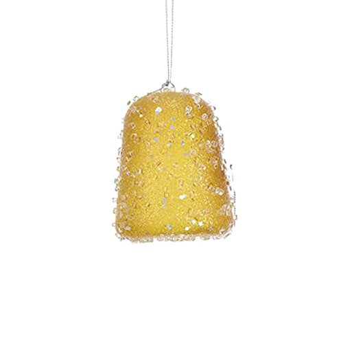 Largemouth Kurt S Adler Gum Drop Ornament (Yellow)