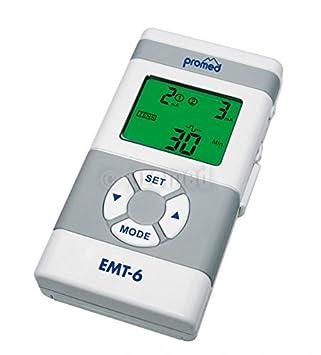 Promed EMT Aparato de terapia anti dolor mediante electroestimulación color blanco