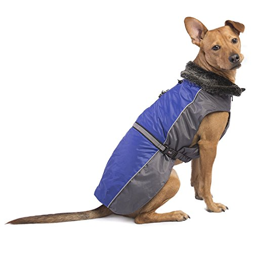 Dog Gone Smart Aspen Parka with Repelz-It Nano-Protection Coat for Dogs, 8