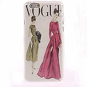 Fashion Woman Cool Pattern Back Case Cover for IPhone 6