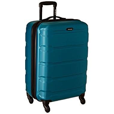 Samsonite Omni PC Hardside Spinner 24, Caribbean Blue, One Size