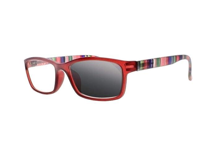 Amazon.com: Gafas de sol para mujer con marco rectangular ...