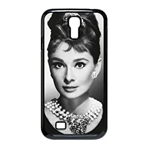 wugdiy DIY Protective Snap-on Hard Back Case Cover for SamSung Galaxy S4 I9500 with Audrey Hepburn