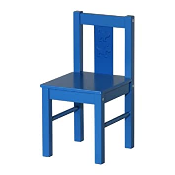 Ikea schreibtischstuhl blau  IKEA Kinderstuhl KRITTER, BLAU: Amazon.de: Baby