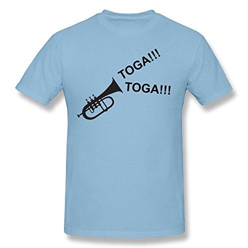 PNHK Men's Toga!Toga! Tee Small SkyBlue (Toga Ideas)