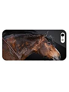 3d Full Wrap Case For Sam Sung Note 4 Cover Animal Horse With A Hat