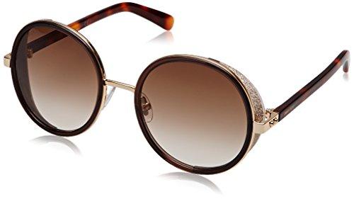 Jimmy Choo Women's Andie/S Rose Gold/Brown/Brown Gradient (Jimmy Choo Sunglasses)