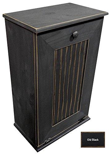 Compare Price Wooden Kitchen Trash Bin On Statementsltd Com