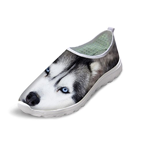 Running Bigcardesigns 37 Cute Husky Shoes Womens Casual Walking Athletic YZYv6