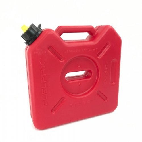 Tank Flat Side Gas - FuelPaX by RotoPaX 1.5 Gallon Fuel Container