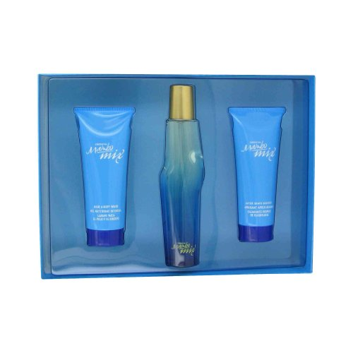 Mambo Mix by Liz Claiborne - Men - Gift Set -- 3.4 oz Eau De Cologne Spray + 3.4 oz A