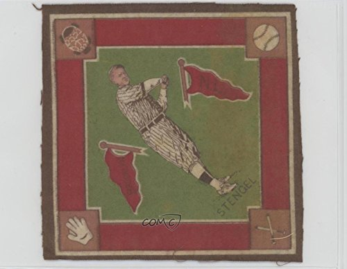 Casey Stengel Ungraded COMC Good to VG-EX (Baseball Card) 1914 Egyptienne Straights Felt Blankets - Tobacco B18 #CAST