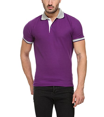 TSX Men's Cotton Rich Collar T-Shirt