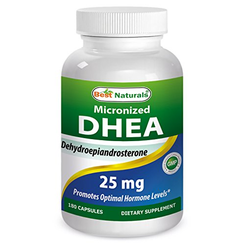 Cheap Best Naturals, Micronized DHEA 25 mg 180 Capsules