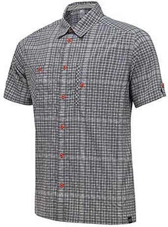 MILLET MIV7863 Camisa, Hombre, Gris (Smoked Pearl), S: Amazon.es: Ropa y accesorios