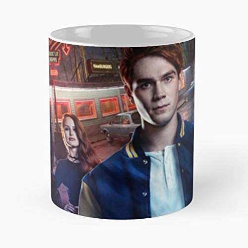 92Wear Jughead Jones Archie Comics Betty Cooper Riverdale Andrews Veronica Lodge Coffee Best 11 oz Taza De Café - Taza De Motivos De Café: Amazon.es: Hogar