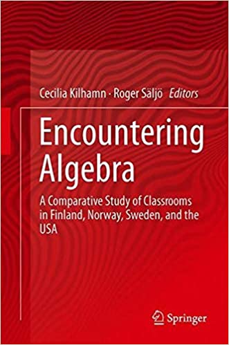 Encountering Algebra: A Comparative Study of Classrooms in