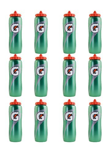 Set of 12 32 oz. Gatorade 'G' Squeeze Bottles by Gatorade