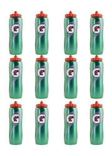 Set of 12 32 oz. Gatorade 'G' Squeeze Bottles by Gatorade