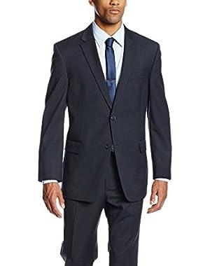Calvin Klein Navy Pinstripe Two Button 100% Wool New Men's Sport Coat