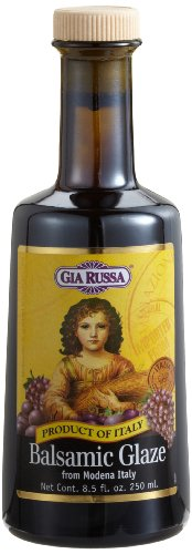 - Gia Russa Balsamic Glaze, 8.5-Ounce Glass Bottles (Pack of 3)