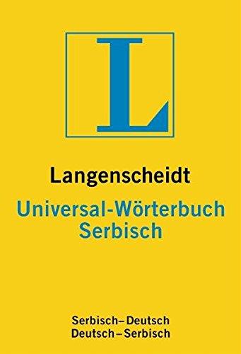 Langenscheidt Universal Wörterbuch Serbisch