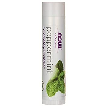 NOW Foods - Solutions Completely Kissable All Natural Lip Balm Peppermint - 0.15 oz. (pack of 5) Brightening Luminous Eye Serum - 0.6 oz. by Andalou Naturals (pack of 4)