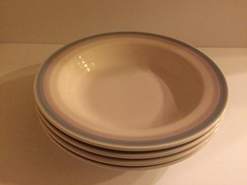 Pfaltzgraff Aura-Pink 10 Individual Pasta Bowl