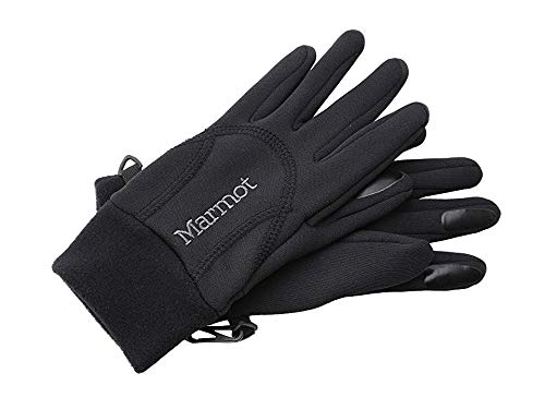 Marmot Women's Power Stretch Glove, Black, Large