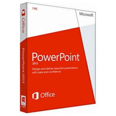 Microsoft Powerpoint 2013 - License And Media - 1 PC - DVD - 32/64-BIT - WIN - English
