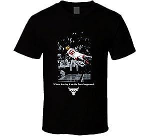 T-Shirt Bandit Dennis Rodman Rage Court Moment Basketball Cool T Shirt