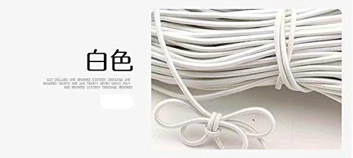 Corde é lastique antichoc de 10 m de long et 3 mm de diamè tre, noire, #7-10m RICISUNG