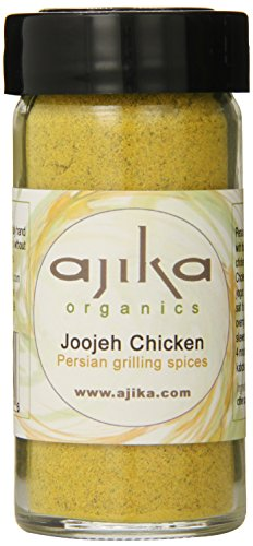 Ajika Organic Joojeh Chicken Grilling Persian spices, 2-Ounce (Amazon Pantry Yogurt)