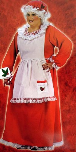 Mrs. Claus Costume - Plus Size