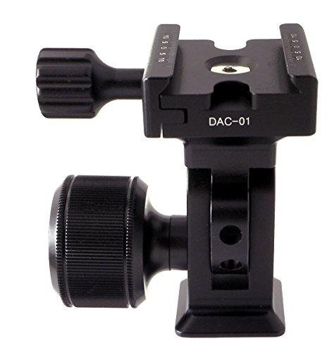 Desmond DMH-2 & 50mm DAC-01 Clamp Tripod Tilt Head Arca /RRS