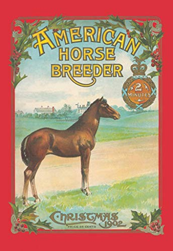 Buyenlarge Christmas 1902 American Horse Breeder Wall Decal, 24