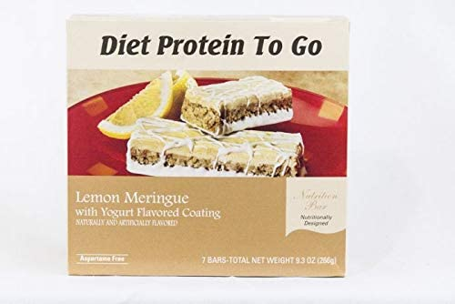 Lemon Meringue Yogurt Bar for Weight Loss 10 Grams of Protein by DPTG