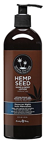 - Earthly Body Hemp Seed Hand and Body Lotion, Moroccan Nights, 16 Oz.