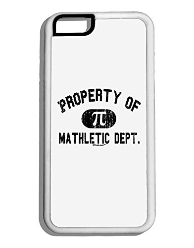 TooLoud Mathletic Department Distressed White Dauphin iPhone 6 Cover